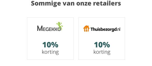 Winkelen en Sparen - Onze Retailers